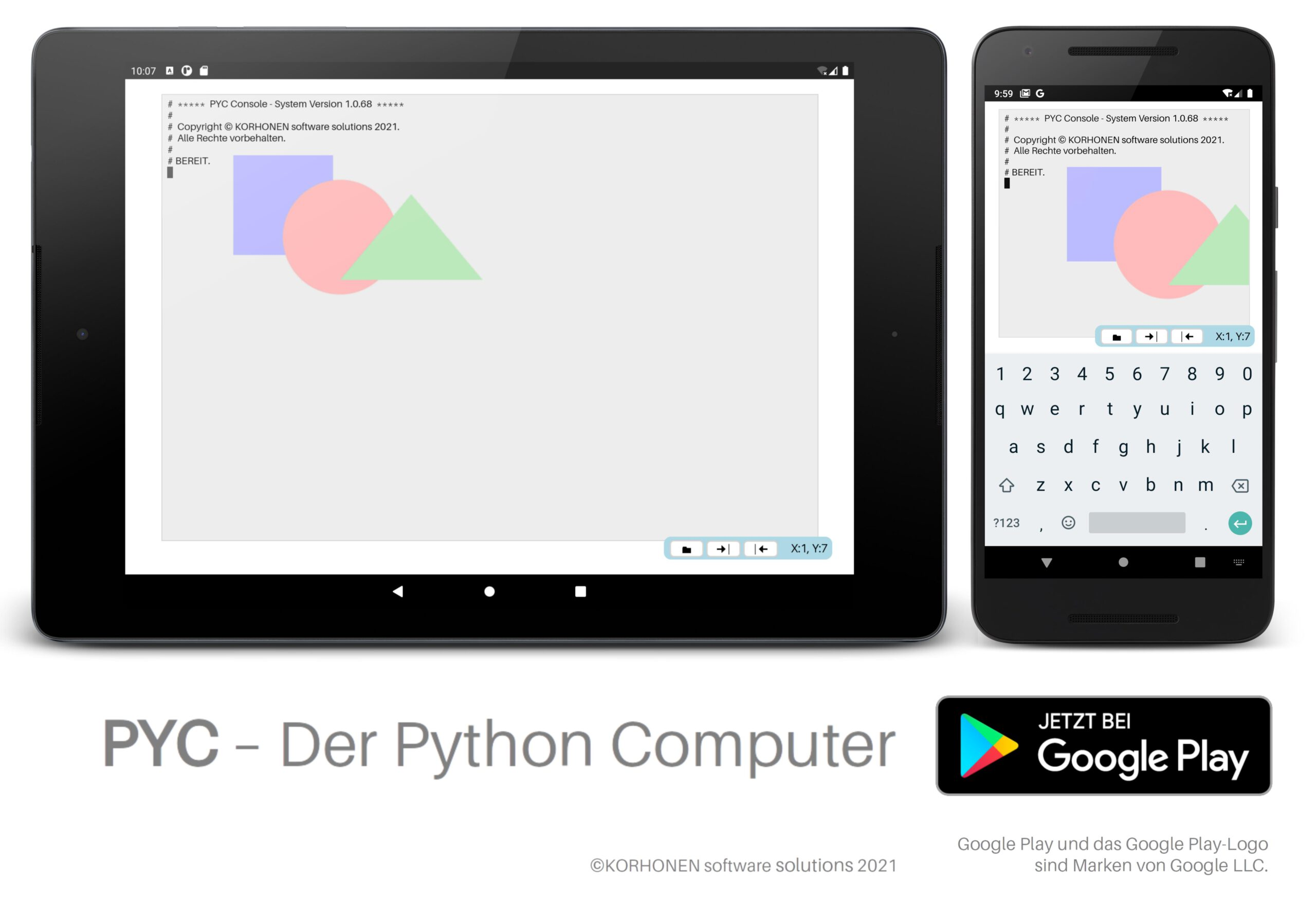 PYC The Python Computer
